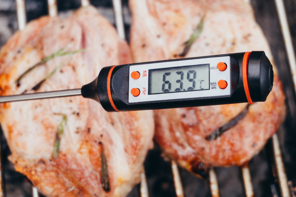 Digitales Grillthermometer - Bratenthermometer