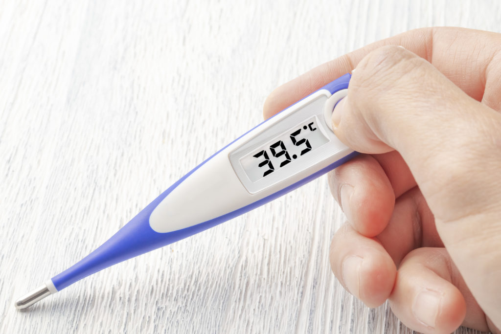Digitales Fieberthermometer
