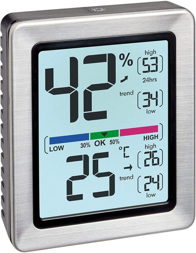 Hygrometer -  Anzeige Temperatur + Luftfeuchtigkeit